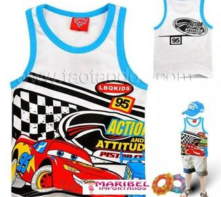 Regata Infantil Mc Queen Cars Disney pronta entrega!