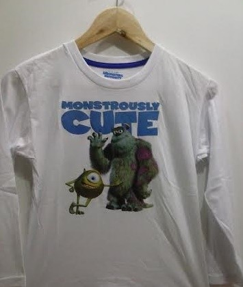 Blusas infantis Monsters. Pronta Entrega!