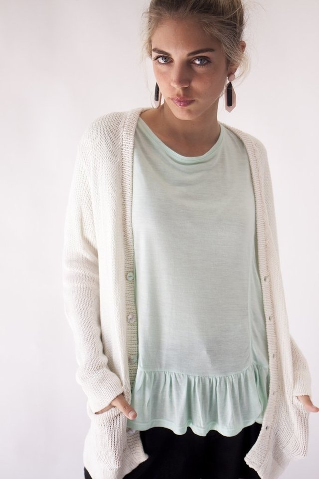 Cardigan Mar natural