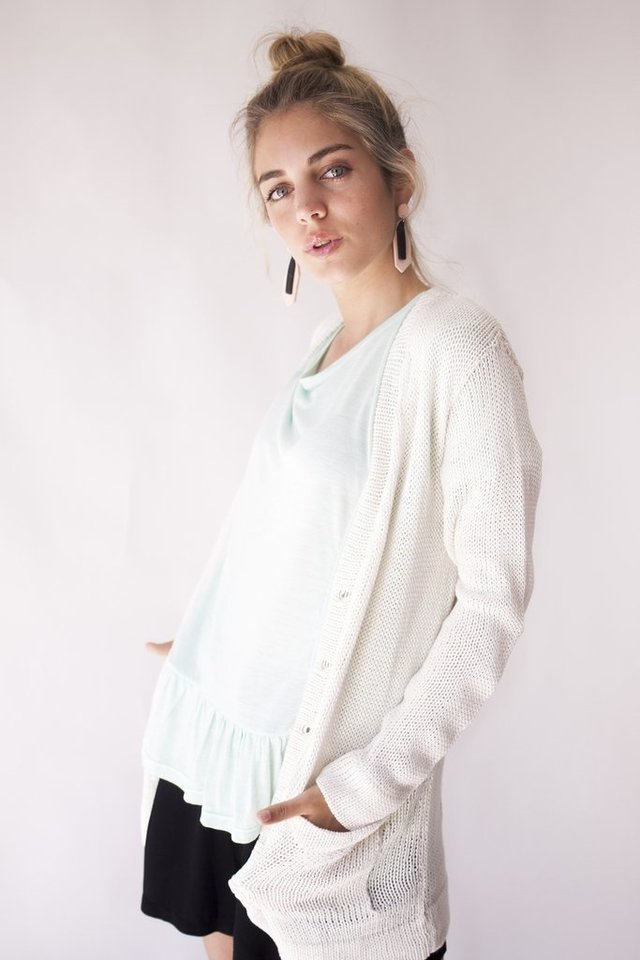 Cardigan Mar natural - comprar online