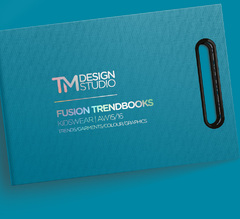 TM Design Studio - Fusion Trendbooks - KidsWear - Autumn/Winter 2015-16 - inclui DVD