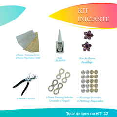 KIT INICIANTE - CHINELO DECORADO