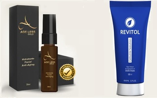 Revitol Creme Anti Celulite - 120 ml + Ageless Gold Anti Sinais - 30 ml