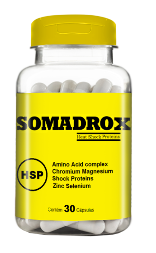 Somadrox 30 caps 500 mg - Muscle Mass - comprar online