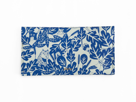 LT wallet - blue rainforest