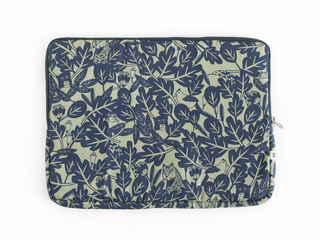 notebook sleeve - indigo rainforest