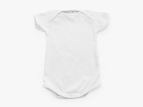 short sleeved bodysuit - solid crude