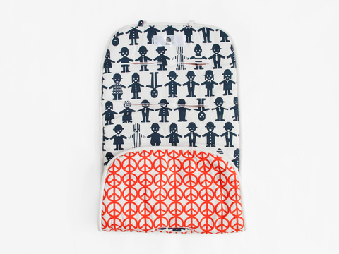 reversible stroller liner - indigo friends
