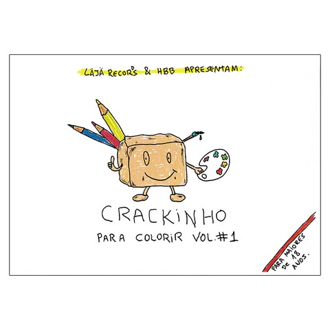 Crackinho Para Colorir (Fabio Mozine)