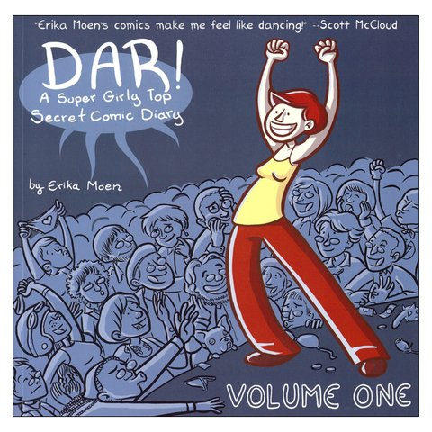 DAR! Volume 1: A Super Girly Top Secret Comic Diary (Erika Moen)