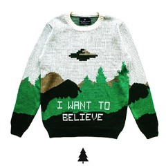 I Want To Believe Sweater