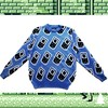 Retro Game Sweater (Azul)