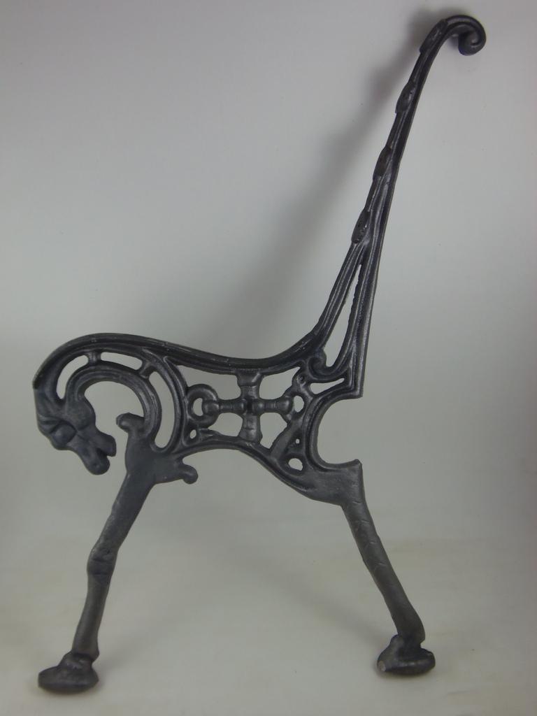 banco de jardim em ferro fundido : banco de jardim em ferro fundido:Home / BANCOS/JARDIM / Pé de Banco Cavalo em Ferro Unidade