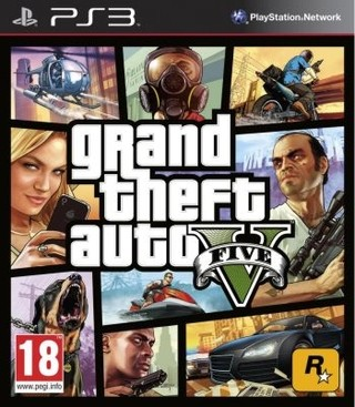 Grand theft auto V  PS3 - Digital