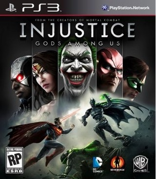 Injustice gods among us PS3 Nuevo