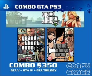 Combo GTA FULL Ps3 Digital