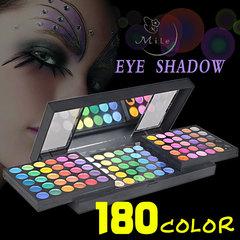 Profissional Make up -  Paleta de sombras com 180 cores