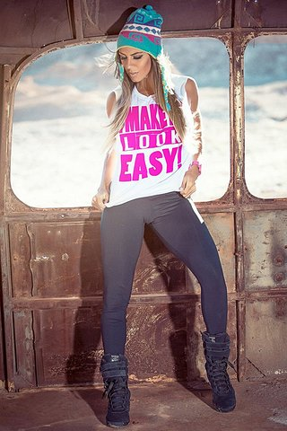 Blusa Look Easy White Superhot