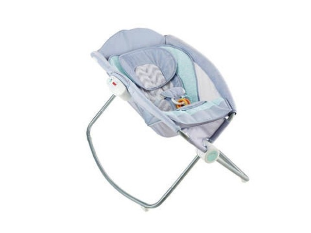 Silla - Cunita Rock and Play Fisher Price