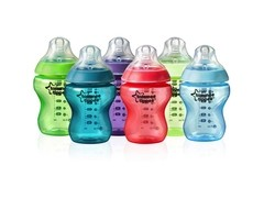 Set de Teteros Tommee Tippee Closer to Nature 9 Onzas x 6
