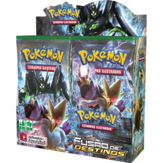 POKÉMON BOX DISPLAY - XY 10 FUSÃO DE DESTINOS