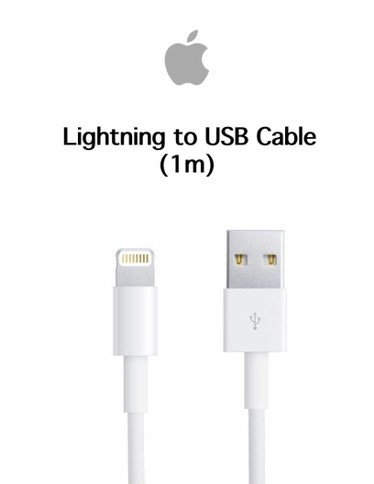 Cabo USB Lightning para Iphone 5/5s/iphone SE/5C/6/6s/6 plus/6s Plus/Iphone 7/7 Plus/IPad mini/iPad Air/ (1 m) Original