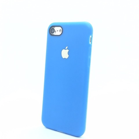 Capa iphone 7 TPU azul