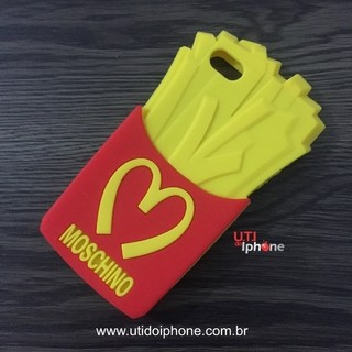 Case silicone Moschino Batata frita iphone 5/5s