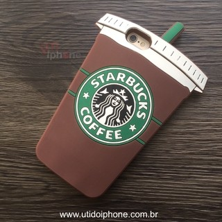Case silicone Starbucks iphone 6