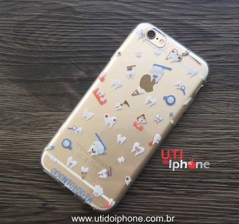 Case Dentista em TPU iphone 6
