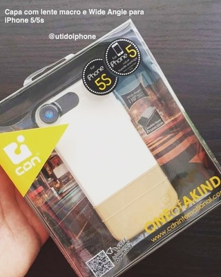 Case iOptic WIDE Angle para Iphone 5 e Iphone 5s