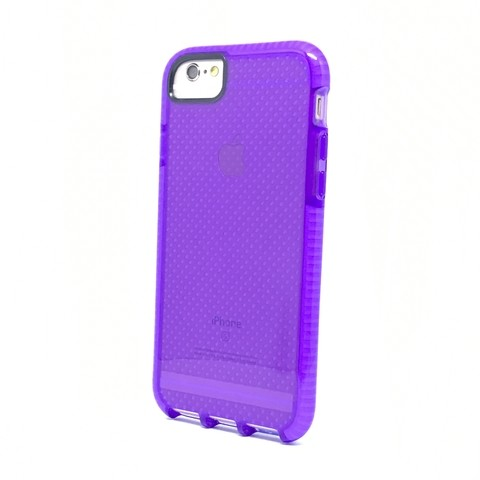 CAPA ANTI CHOQUE PARA IPHONE ( ROXA )