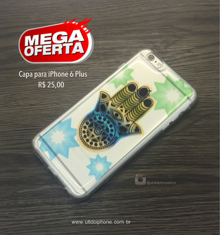 Capa para iPhone 6 Plus COD12