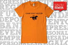 Remera Camp Half Blood de la saga de Percy Jackson