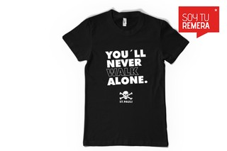 Remera St. Pauli You´ll will never walk alone
