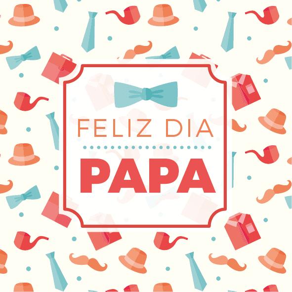 Feliz Día Papá Cartel En Vinilo Día Del Padre