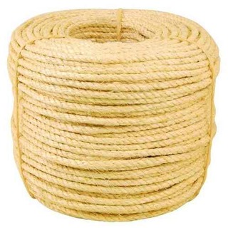 Corda Sisal 10mm 3/8 Rolo C/220m - Resistente - Nota Fiscal