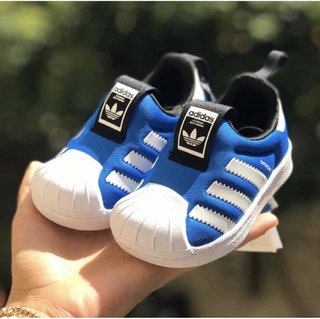 Tênis Superstar Adidas 360 Blue