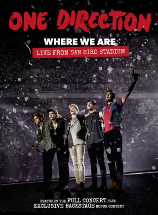 ONE DIRECTION - WHERE WE ARE: LIVE FROM SAN SIRO (DVD)