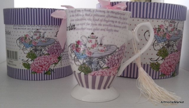 Tetera con Taza - Tea for One- de Porcelana Tea Table en internet