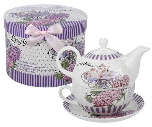 Tetera con Taza - Tea for One- de Porcelana Tea Table
