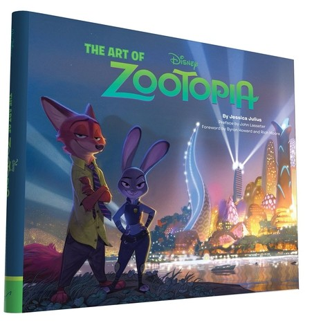 Libro: The Art of Zootopia