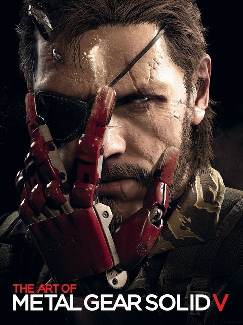 Libro: The Art of Metal Gear Solid V