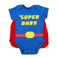 Body Divertido Super BABY com Capa Removível