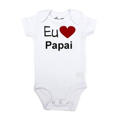 Body Divertido EU AMO PAPAI