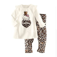 Pijama Infantil Longo Hello Kitty