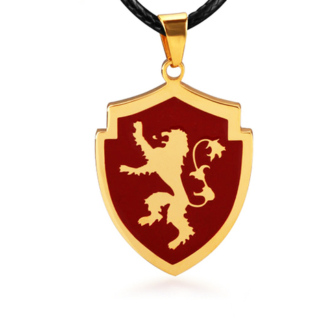 Colar Casa Lannister - Game of Thrones