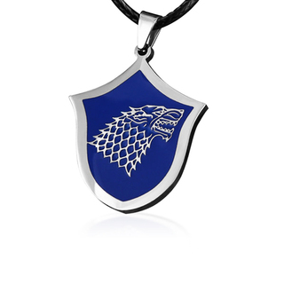 Colar Casa Stark - Game of Thrones