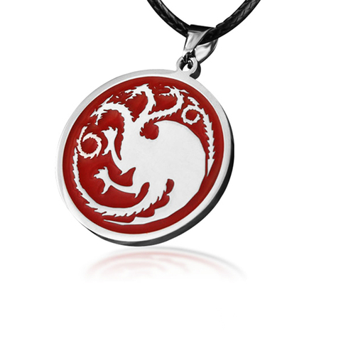 Colar Casa Targaryen - Game of Thrones