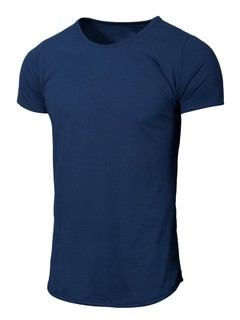 NAVY -Remera Larga-